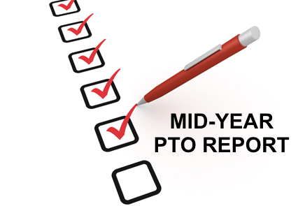 Mid-Year PTO Report check boxes